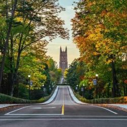 Road to Duke Chapel